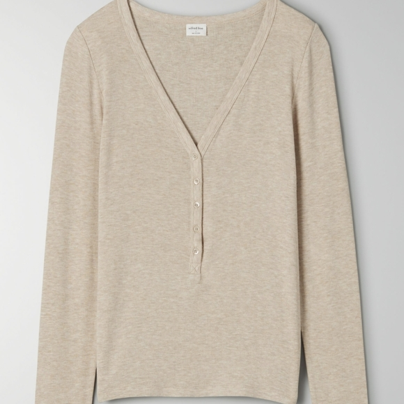 Wilfred Free Only Henley Long Sleeve